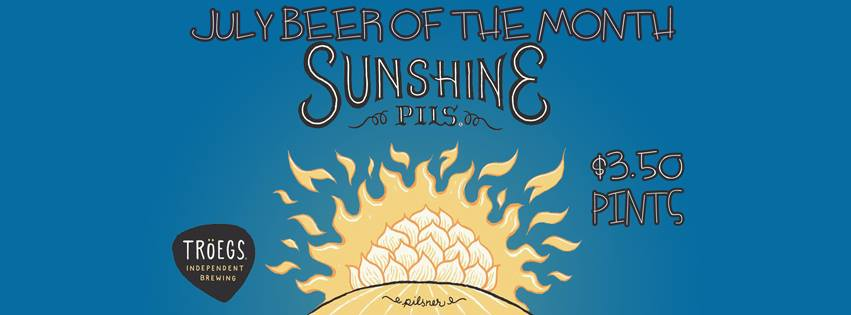 Troegs Sunshine Pils Craft Beer of the Month