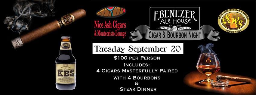 Cigar and Bourbon Night | Ebenezer Ale House