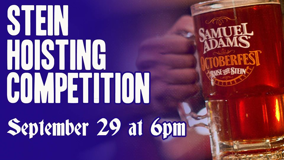 Sam Adams Stein Hoisting Competition