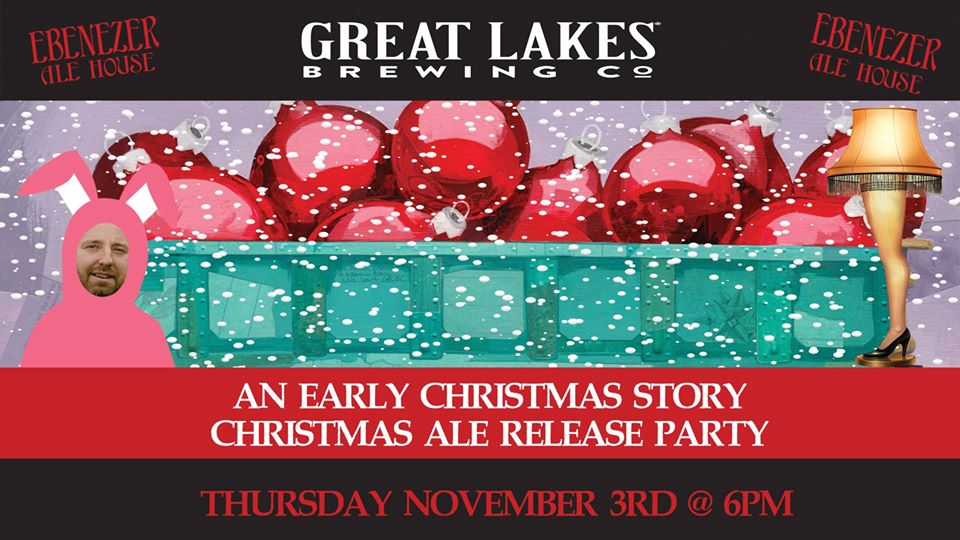 Great Lakes Brewing Company Christmas Ale Release Party