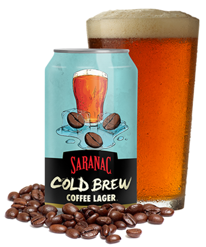 Saranac Cold Brew Coffee Lager