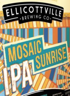 Ellicottville Mosaic Sunrise