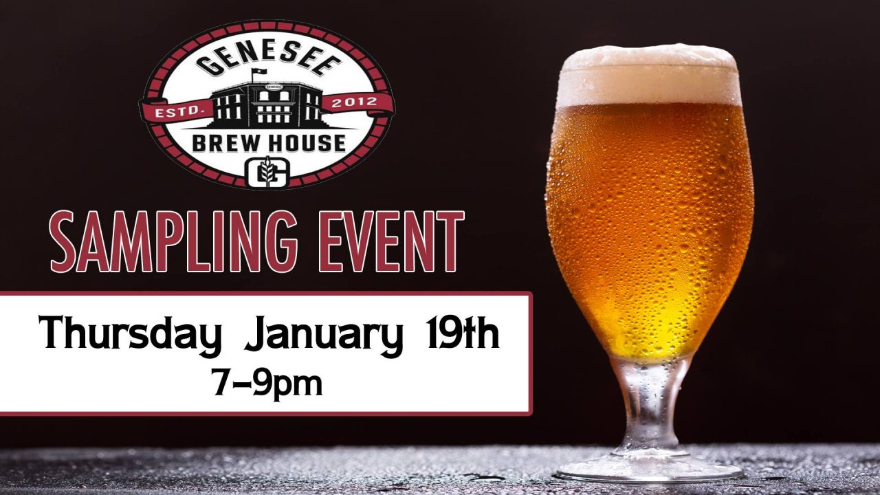 Genesee Brew House Craft Beer Sampling