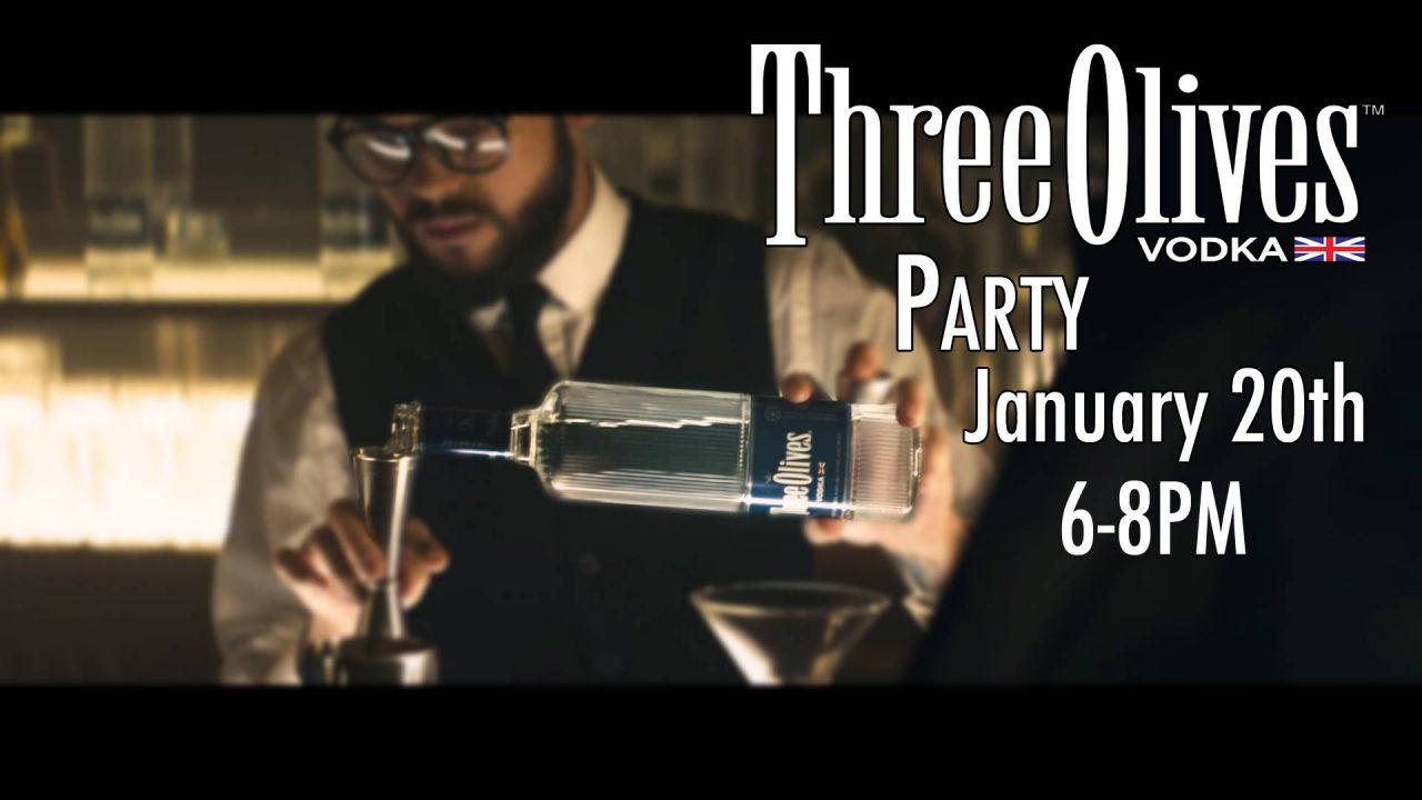 Three Olives Vodka Party