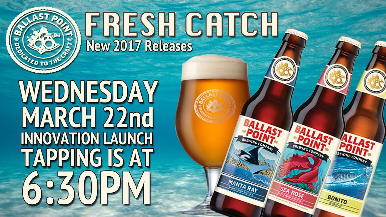 Ballast Point Fresh Catch Event
