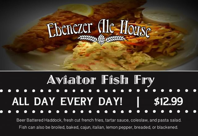 Ebenezer Ale House Fish Fry | West Seneca NY