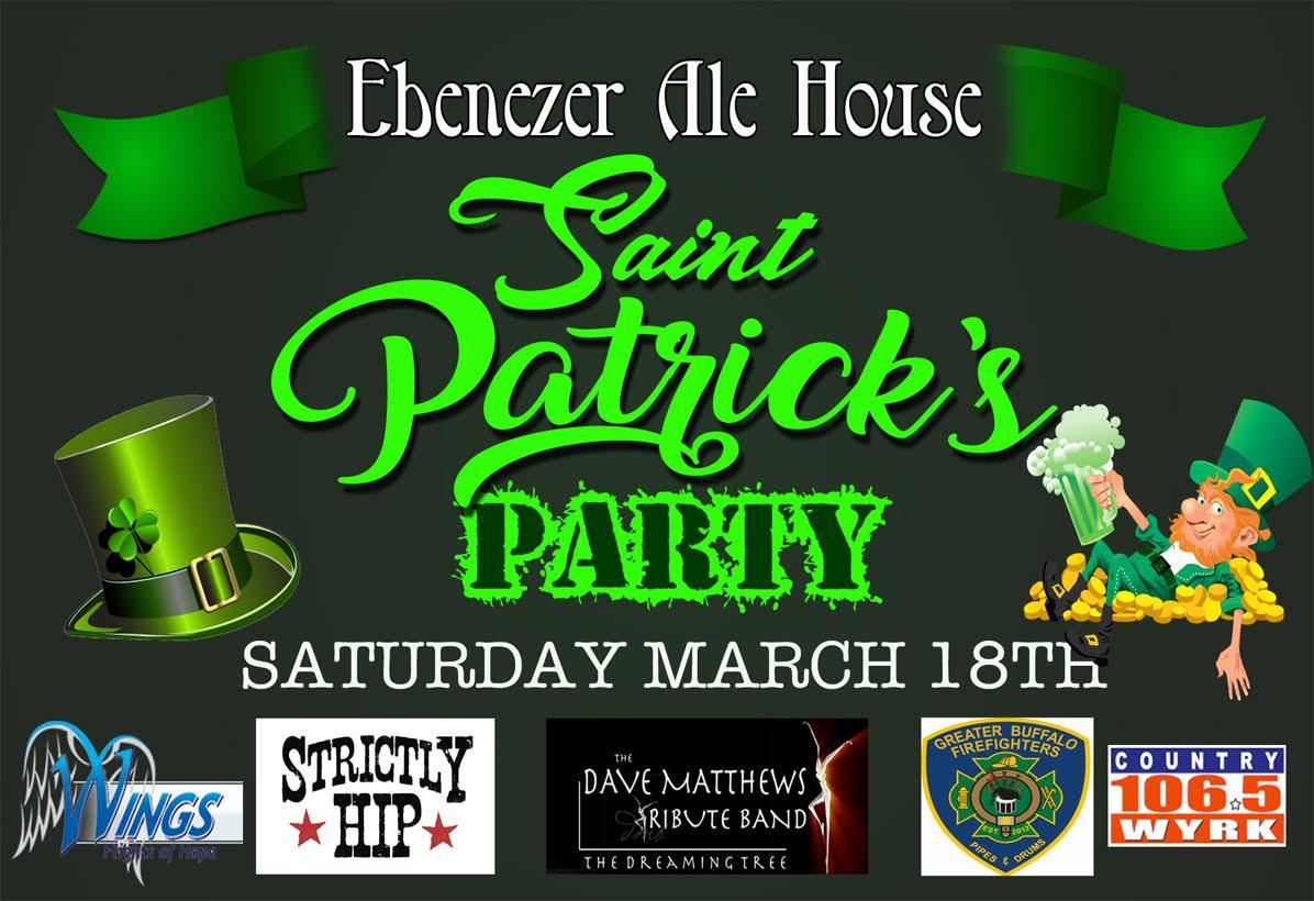Ebenezer Ale House St. Patrick's Day 2017