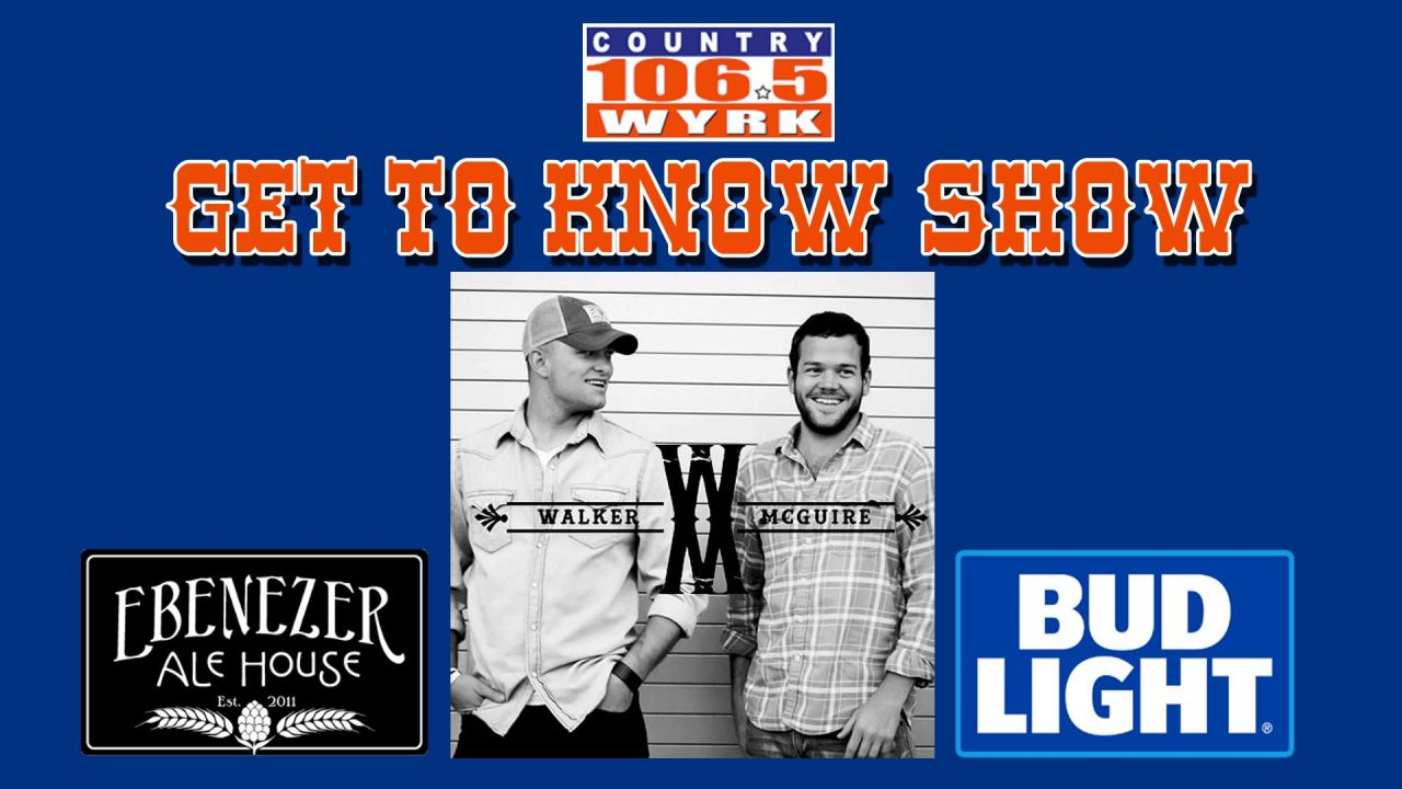 WYRK Get To Know Show - Walker McGuire