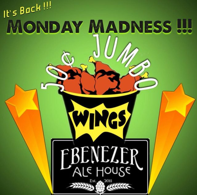 Monday Madness Chicken Wing Special