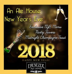 New Year's Eve 2017 - Ebenezer Ale House