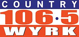 106.5 WYRK logo