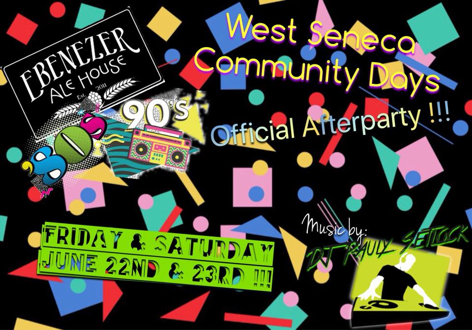 West Seneca Community Days Afterparty
