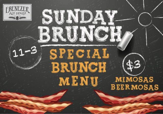 Sunday Brunch - Ebenezer Ale House
