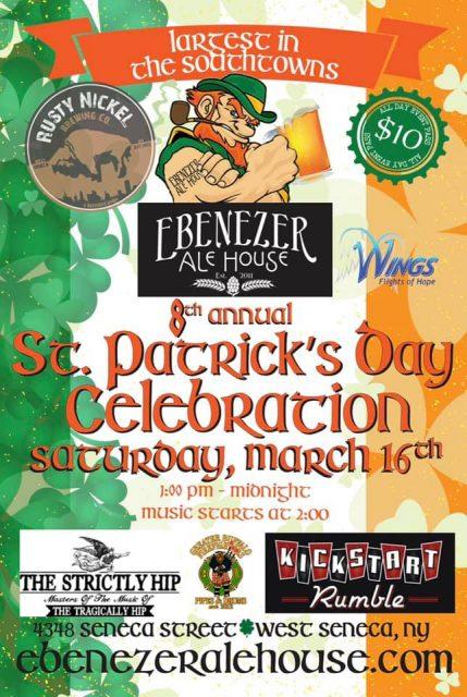 St. Patrick's Day 2019 | Ebenezer Ale House